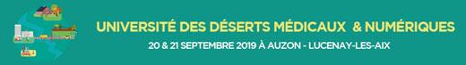 Université des déserts médicaux – liste site
