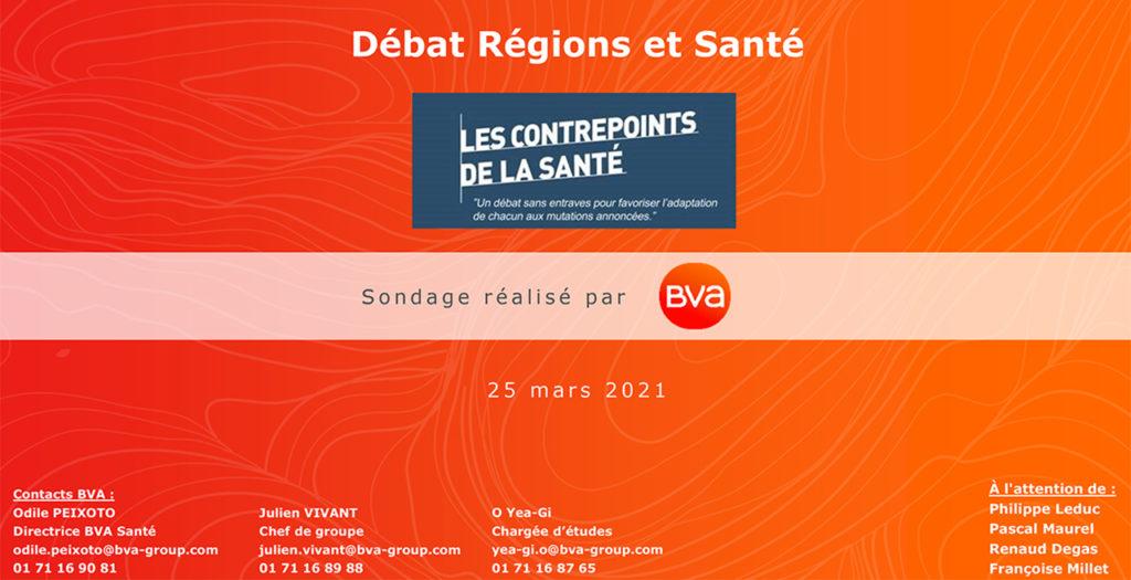 Sondage BVA pour les Contrepoints Santé_Régions et Santé 250321_Site