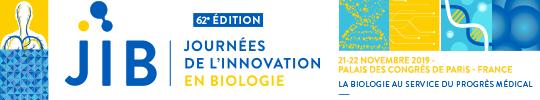 Journées de l'innovation en biologie 2019 – liste site