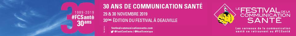Festival de la communication en santé – Site tête